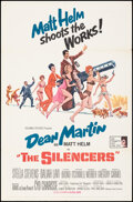 """Movie Posters:Action, The Silencers (Columbia, 1966). Folded, Very Fine-. One Sheet (27"""" X 41"""") Robert McGinnis Artwork. Action.. ..."""