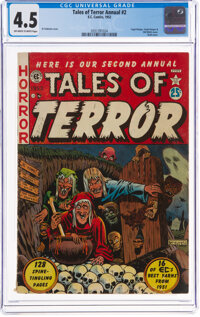 Tales of Terror Annual #2 (EC, 1952) CGC VG+ 4.5 Off-white to white pages