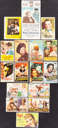 """Movie Posters:Academy Award Winners, Gone with the Wind & Other Lot (MGM, R-1953). Very Fine. Spanish Heralds (10) (3.25"""" X 5.25"""", 3.5"""" X 5.5"""", & 4.25"""" X 5.5"""") &... (Total: 16 Items)"""
