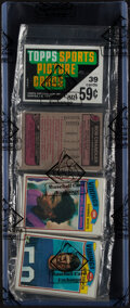 Baseball Cards:Unopened Packs/Display Boxes, 1977 Topps Football Rack Pack - BBCE Authenticated.