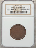 (1795-1857) 1C Type Two, Large Cent -- Blank Planchet -- NGC
