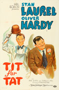 Movie Posters:Comedy, Tit for Tat (MGM, 1935). Folded, Very Fine. One Sh...