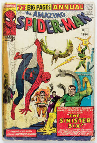 The Amazing Spider-Man Annual #1 Incomplete (Marvel, 1964)