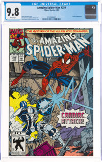 The Amazing Spider-Man #359 (Marvel, 1992) CGC NM/MT 9.8 White pages