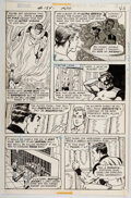 Original Comic Art:Story Page, Dave Cockrum and Murphy Anderson Superboy #184 Story Page 5 Original Art (DC, 1972)....