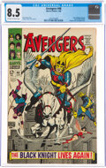 Silver Age (1956-1969):Superhero, The Avengers #48 (Marvel, 1968) CGC VF+ 8.5 Off-white to w...