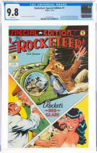 The Rocketeer Special Edition #1 (Eclipse, 1984) CGC NM/MT 9.8 White pages