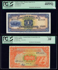 Southwest Africa Barclays Bank D.C.O. 1 Pound 29.11.1958 Pick 5b PCGS Extremely Fine 40PPQ; Standard Bank of South Afri...
