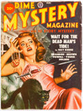 Pulps:Horror, Dime Mystery Magazine - August 1949 (Popular) Condition: FN....