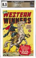 All Western Winners #3 The Promise Collection Pedigree (Marvel, 1949) CGC VF+ 8.5 Off-white to white pages