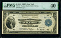 Large Size:Federal Reserve Bank Notes, Fr. 711* $1 1918 Federal Reserve Bank Star Note PMG Extremely Fine 40.. ...
