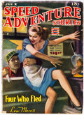 Pulps:Adventure, Speed Adventure Stories - January 1943 (Trojan Publishing) Condition: FN-....