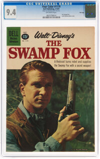 Four Color #1179 The Swamp Fox - File Copy (Dell, 1961) CGC NM 9.4 Off-white pages