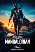 """Movie Posters:Science Fiction, The Mandalorian (Disney+, 2019). Rolled, Very Fine-. One Sheet (27"""" X 41"""") DS Advance. Science Fiction.. ..."""