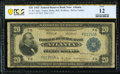 Fr. 822 $20 1915 Federal Reserve Bank Note PCGS Banknote Fine 12