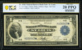 Large Size:Federal Reserve Bank Notes, Fr. 731* $1 1918 Federal Reserve Bank Star Note PCGS Banknote Very Fine 20 PPQ.. ...