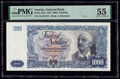 World Currency, Austria Austrian National Bank 1000 Schilling 2.1.1954 Pick 135a PMG About Uncirculated 55.. ...