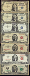 Assorted Lot of Legal Tenders, Silver Certificates, FRNs and Obsoletes Very Good or Better. ... (Total: 18 notes)