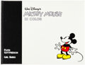 Memorabilia:Disney, Mickey Mouse in Color Signed Limited Edition Hardcover Book #2044/3000 (Another Rainbow, 1988)....