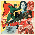 Movie Posters:Action, Spy Smasher (Republic, 1942). Folded, Very Fine. S...