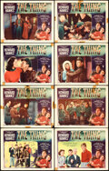 """Movie Posters:Science Fiction, The Thing from Another World (RKO, 1951). Overall: Fine+. Lobby Card Set of 8 (2 Autographed) (11"""" X 14"""") & One Sheet..."""