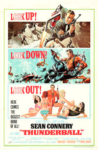 """Thunderball & Other Lot (United Artists, 1965). Folded, Overall: Fine+. One Sheets (2) (27"""" X 41"""") Frank M..."""