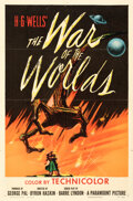 """Movie/TV Memorabilia:Posters, The War of the Worlds (Paramount, 1953). Folded, Fine+. One Sheet (27"""" X 41"""")...."""