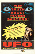 Movie/TV Memorabilia:Posters, UFO: Unidentified Flying Objects & Other Lot (United Artis...