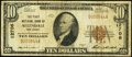 Allendale, NJ - $10 1929 Ty. 1 The First National Bank Ch. # 12706 Fine
