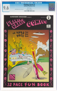 Flaming Carrot #1 (Aardvark-Vanahem, 1984) CGC NM+ 9.6 White pages