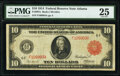 Fr. 897a $10 1914 Red Seal Federal Reserve Note PMG Very Fine 25