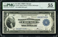 Fr. 729 $1 1918 Federal Reserve Bank Note PMG About Uncirculated 55