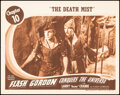 """Movie Posters:Serial, Flash Gordon Conquers the Universe (Universal, 1940). Fine/Very Fine. Lobby Card (11"""" X 14""""). Chapter 10 -- """"The Death Mist...."""