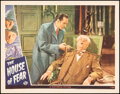 """Movie Posters:Mystery, The House of Fear (Universal, 1945). Very Fine. Lobby Card (11"""" X 14""""). Mystery.. ..."""