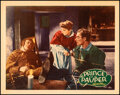 """Movie Posters:Swashbuckler, The Prince and the Pauper (Warner Bros., 1937). Very Fine. Linen Finish Lobby Card (11"""" X 14""""). Swashbuckler.. ..."""