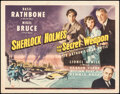 """Movie Posters:Crime, Sherlock Holmes and the Secret Weapon (Universal, 1942). Fine/Very Fine. Title Lobby Card (11"""" X 14""""). Crime.. ..."""