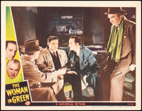 """The Woman in Green (Universal, 1945). Very Fine-. Lobby Card (11"""" X 14""""). Mystery"""