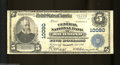 National Bank Notes:Virginia, Richmond, VA - $5 1902 Plain Back Fr. 602 The Central NB ...