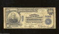 National Bank Notes:West Virginia, Clarksburg, WV - $10 1902 Plain Back Fr. 624 The Empire ...