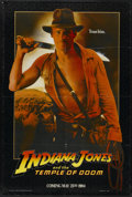 "Movie Posters:Adventure, Indiana Jones and the Temple of Doom (Paramount, 1984). One Sheet(27"" X 41"") Advance. Adventure...."