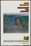 "Movie Posters:Crime, Thunderbolt and Lightfoot (United Artists, 1974). One Sheet (27"" X41"") Tri-Folded Style B. Crime...."