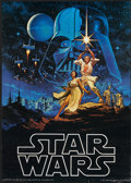 "Movie Posters:Science Fiction, Star Wars (20th Century Fox, 1977). Licensed Promotional Poster(20"" X 28""). Science Fiction...."