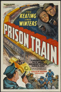 "Movie Posters:Crime, Prison Train (Equity, 1938). One Sheet (27"" X 41""). Crime...."