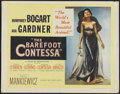 "Movie Posters:Drama, The Barefoot Contessa (United Artists, 1954). Half Sheet (22"" X 28""). Drama...."