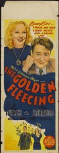 """Movie Posters:Comedy, The Golden Fleecing (MGM, 1940). Australian Daybill (15"""" X 39.5""""). Comedy...."""