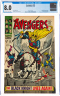 Silver Age (1956-1969):Superhero, The Avengers #48 (Marvel, 1968) CGC VF 8.0 Off-white to white pages....