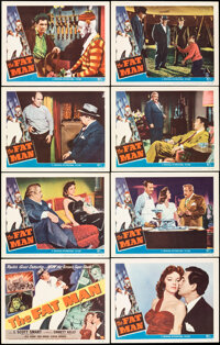 """The Fat Man (Universal International, 1951). Very Fine. Lobby Card Set of 8 (11"""" X 14""""). Mystery. ... (Total:..."""
