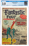 Silver Age (1956-1969):Superhero, Fantastic Four #13 (Marvel, 1963) CGC GD/VG 3.0 Cream to off-white pages....