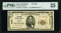 National Bank Notes:Oklahoma, Tulsa, OK - $5 1929 Ty. 1 The Exchange National Bank Ch. # 9658 PMG Very Fine 25.. ...