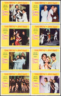 """Movie Posters:Comedy, Scared Stiff (Paramount, 1953). Fine/Very Fine. Lobby Card Set of 8 (11"""" X 14""""). Comedy.. ... (Total: 8 Items)"""